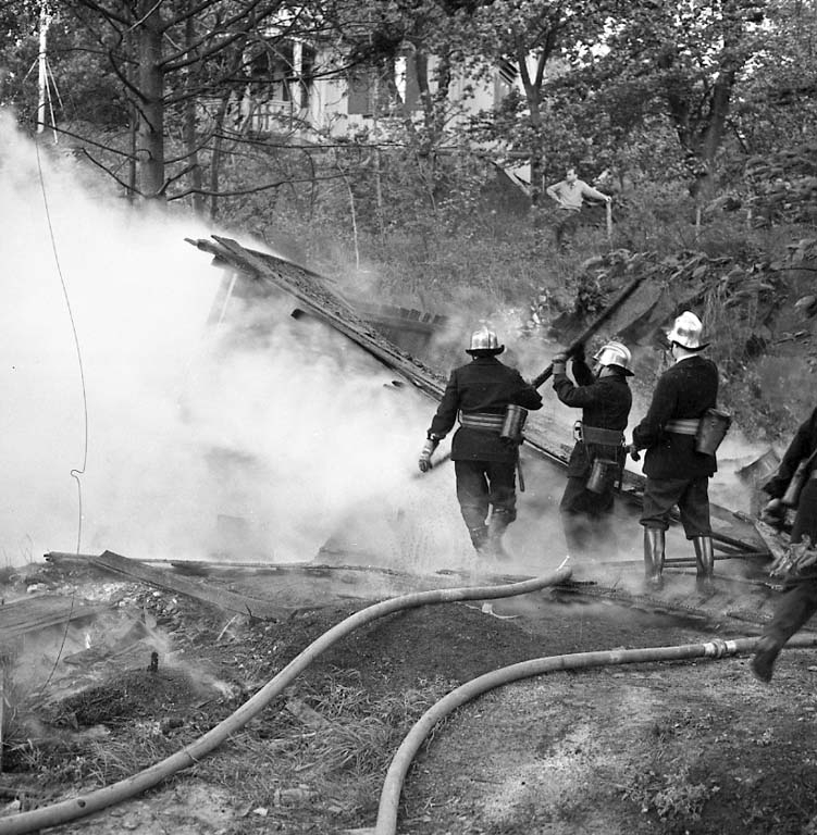 Brand i Elis Smide, Junogatan 1961