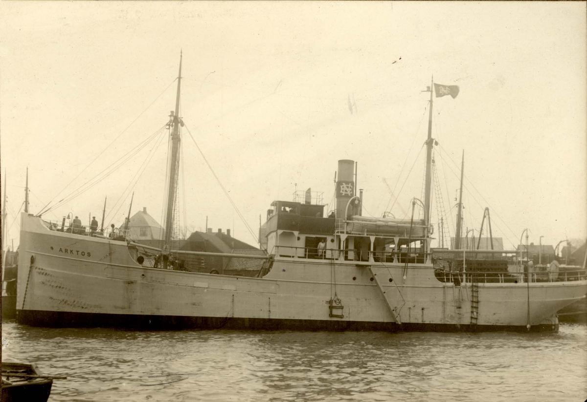 Havnemiljø - Dampskip.