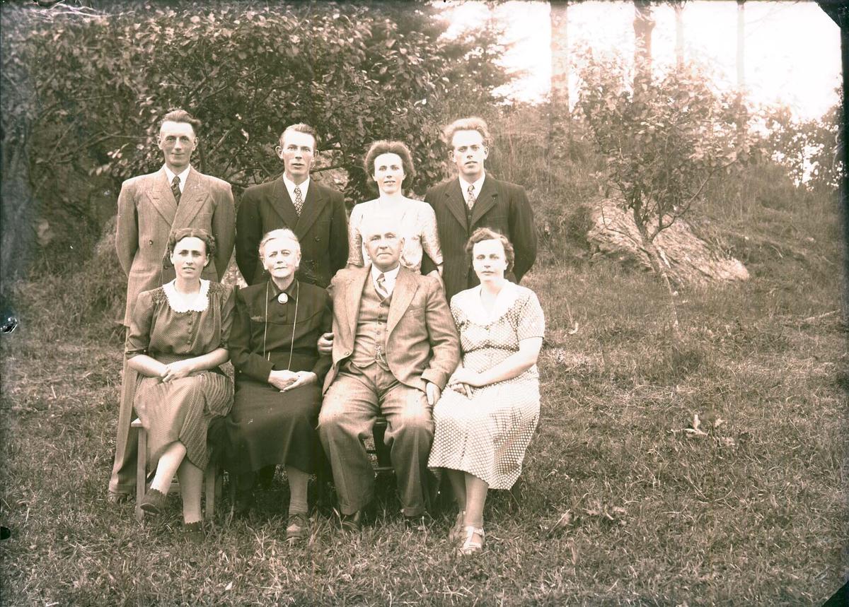Gruppebilde - Familie.