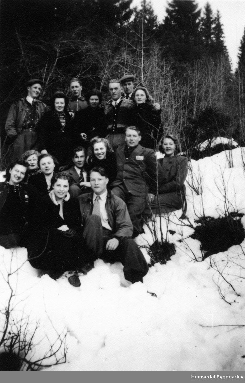 Elevar ved Lien Landbruksskule i Ål