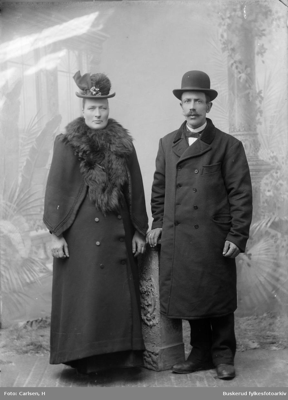 Lars Nilsen fra Nerstahagen med sin hustru