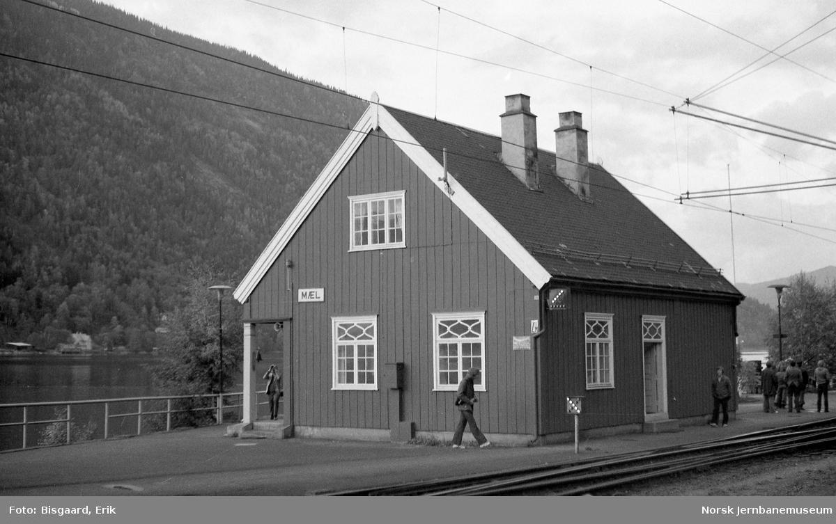 Mæl stasjonsbygning