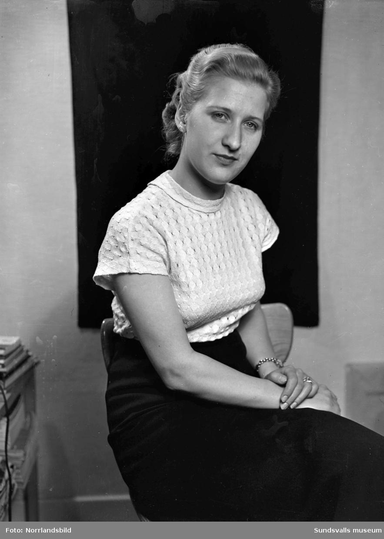 Märta Hammargren, porträttbild.
