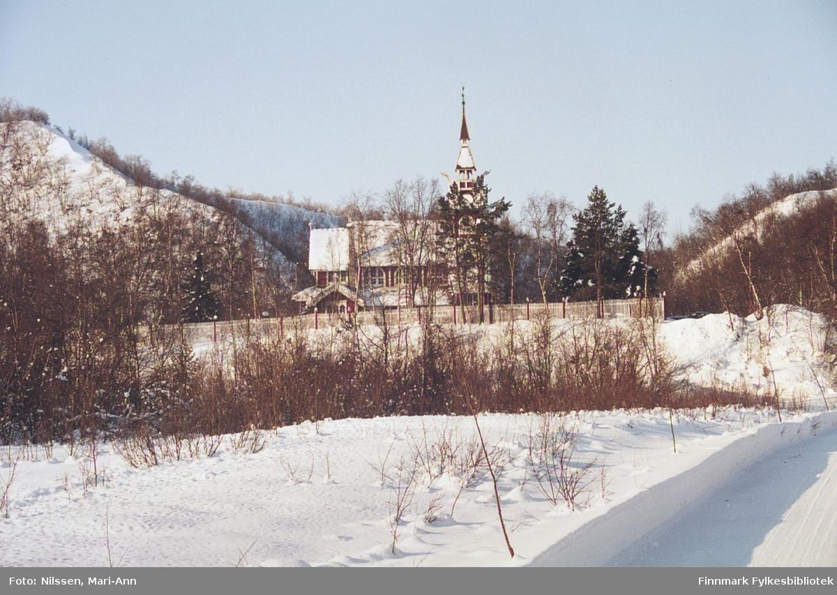 Neiden kapell fotografert 2.3.2001