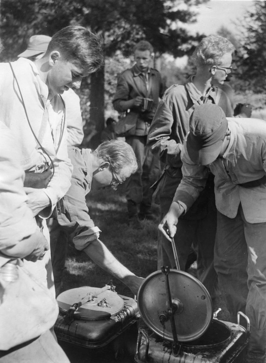 Utspisning, patrullfälttävlan i Gislaved. A 6.