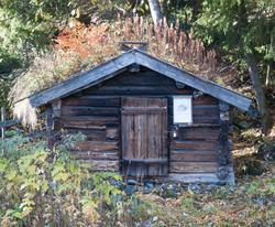 Badstue fra Rudningsdokken på Torpo - Ål Bygdamuseum, Leksvo