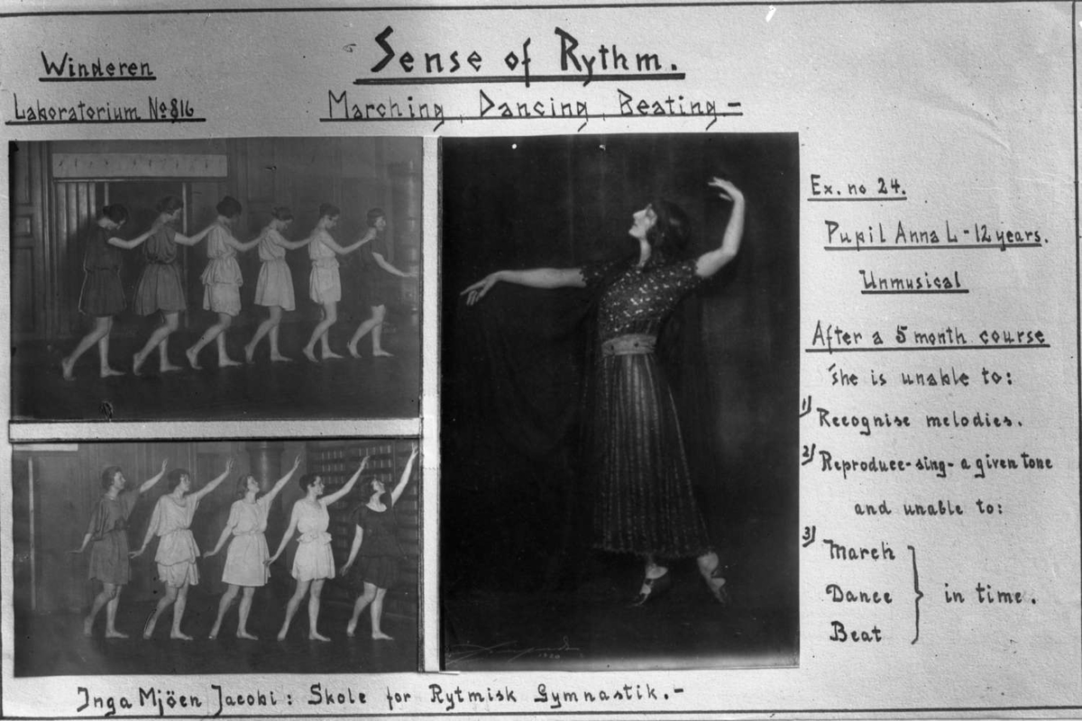 Sense of Rythm, W.L. no. 816