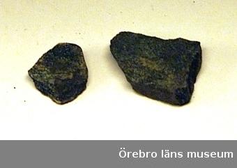 Malm från Alntorpshytta, fl.nr. 81, Nora sn, Västmanland.Anm: fynden är insamlade av framlidne Allan Wetterholm.