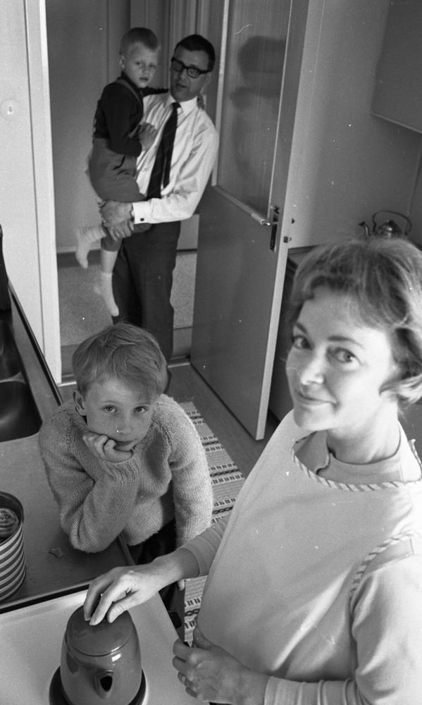 Söndagshem familj 6 maj 1965.Stödfamilj.