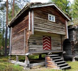 Stabbur fra Nedre Berger, Åmot
