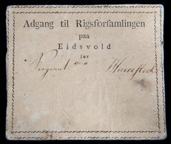 Adgangskort