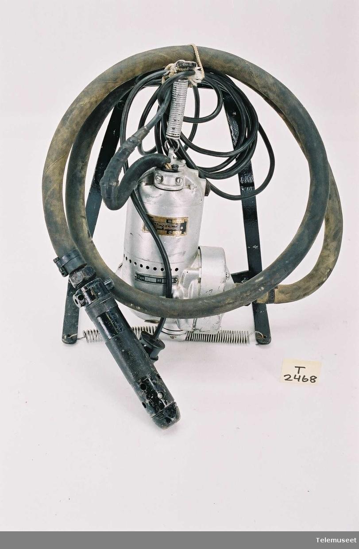 Elektrisk kompressor for pigging, med bæremeis OS 65, Nr 190112, 220 V No 11368
