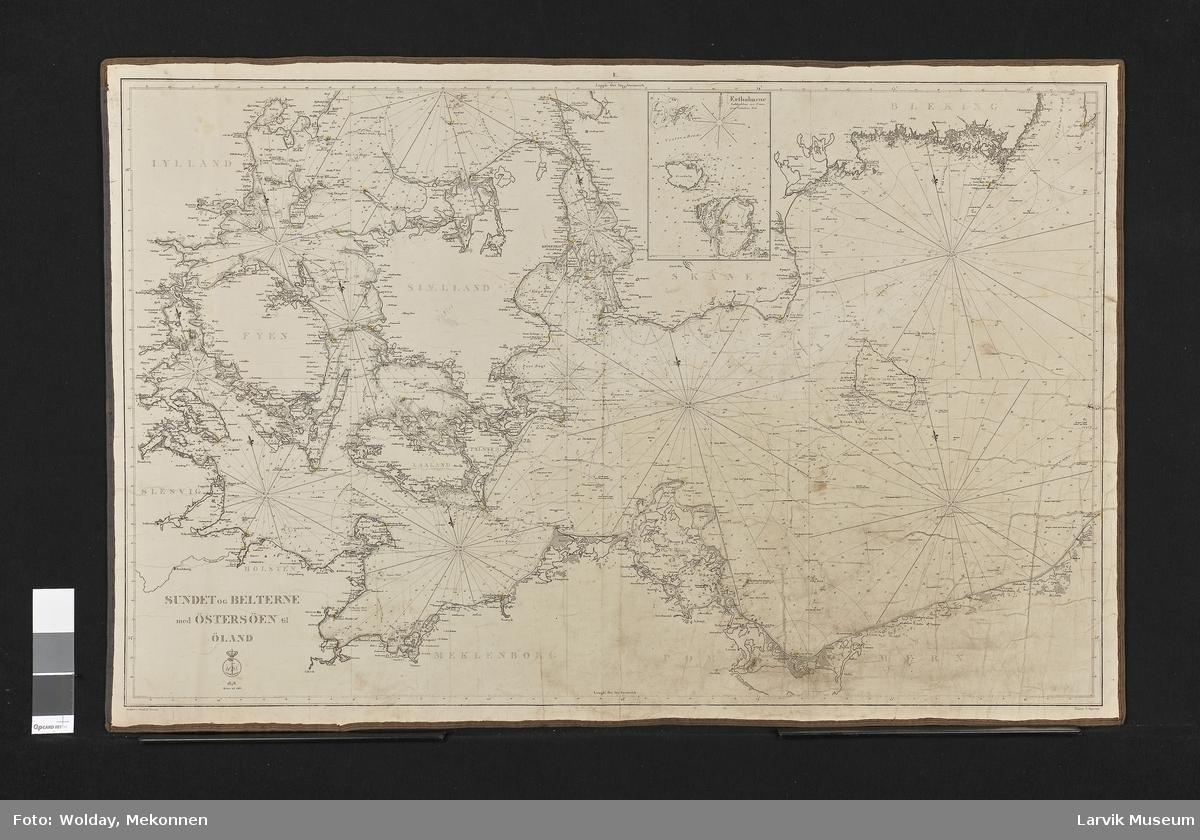 Sundet og Belterne med Østersjøen til Øland