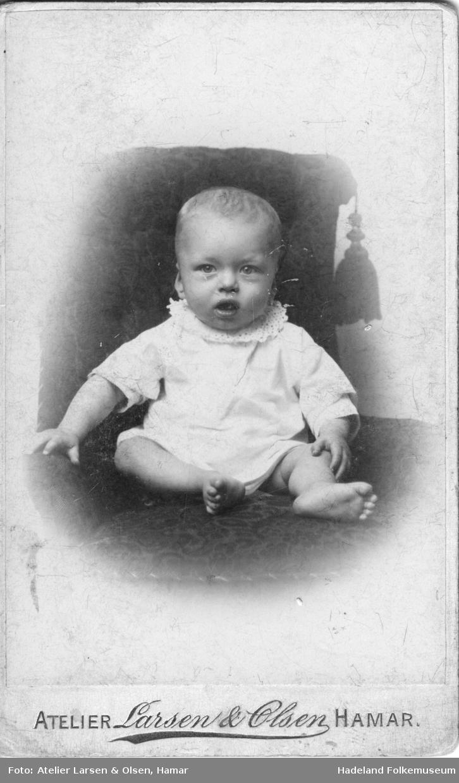 Jacob Normann Molstadkvern som liten.