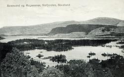 Postkort. Svanvand, Rugaasnes, Velfjorden, Nordland, landska