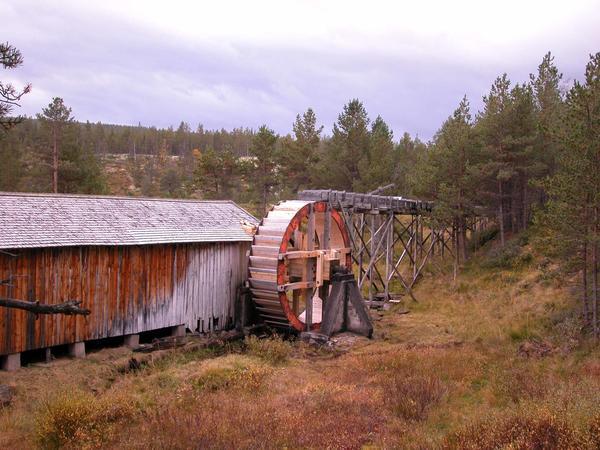 Vassaga i Mellombekken. Foto/Photo