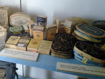 Hjemmeavlet tobakk fra 2. verdenskrig. Foto/Photo