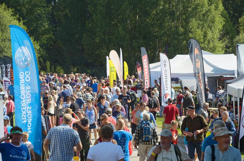 Publikum under De nordiske jakt- og fiskedager 2014. (Foto/Photo)