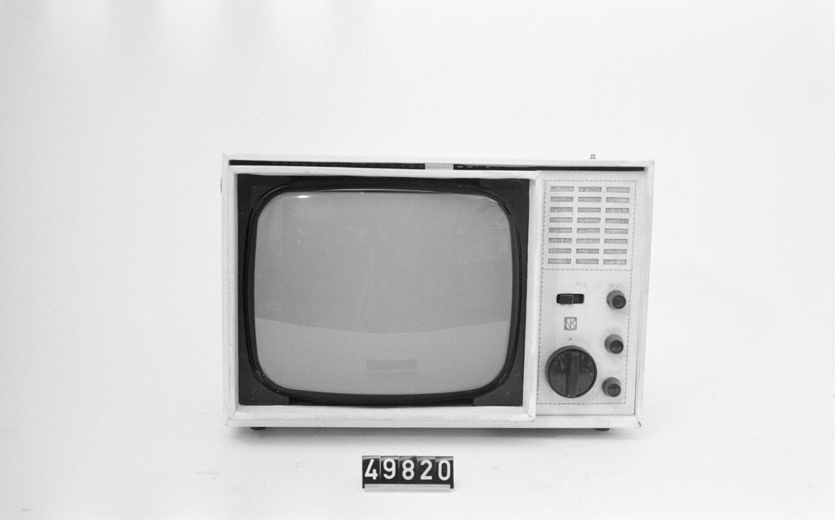 """TV-mottagare med 11"""" bildrör."""