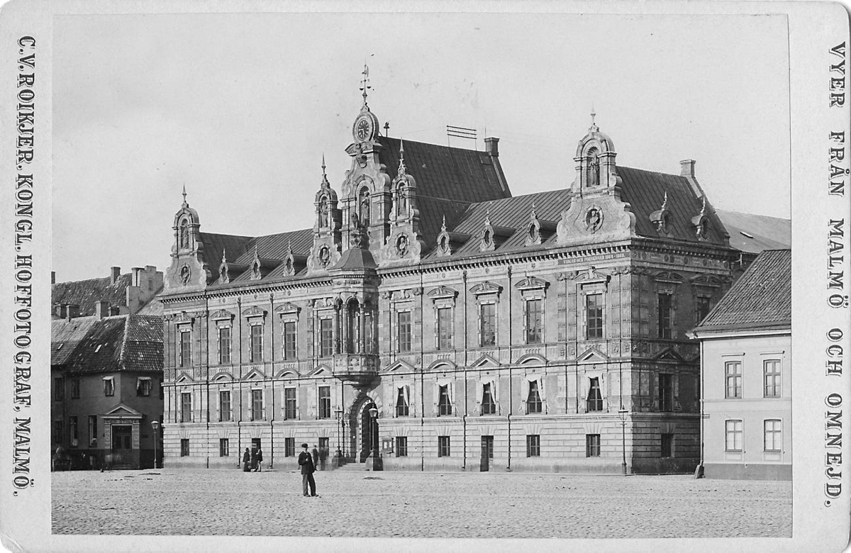 Malmö Rådhus, trolgen under 1890-talet