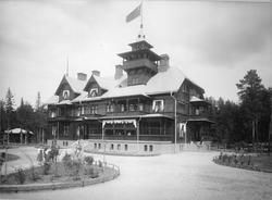 Turisthotellet i Rättvik omkring 1900. Arkitekt: Nils Nordén