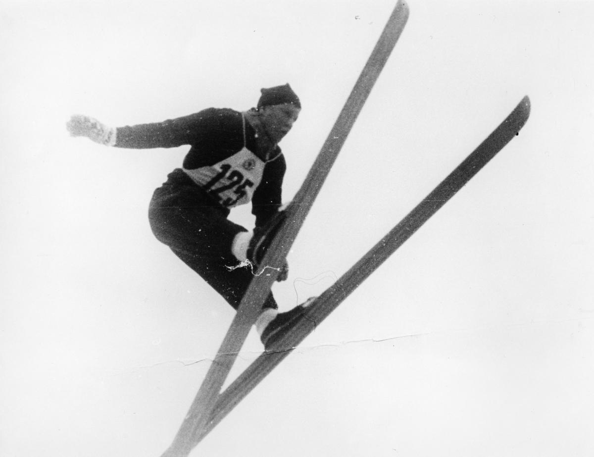 Kongsberg skier Birger Ruud in Holmenkollen