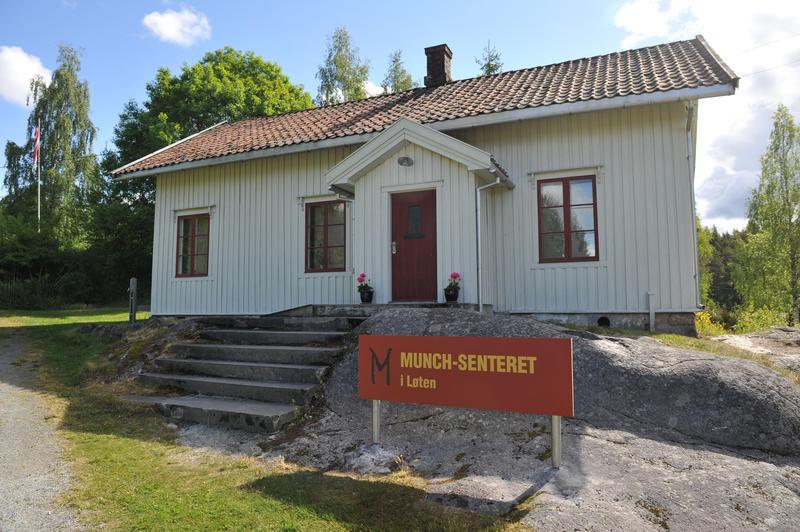 Munch-senteret i Løten.