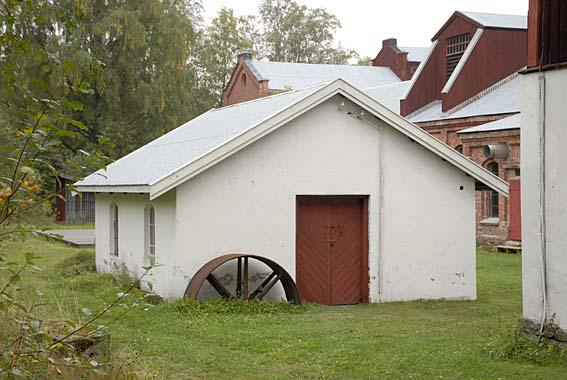 The old smithy at Klevfos.