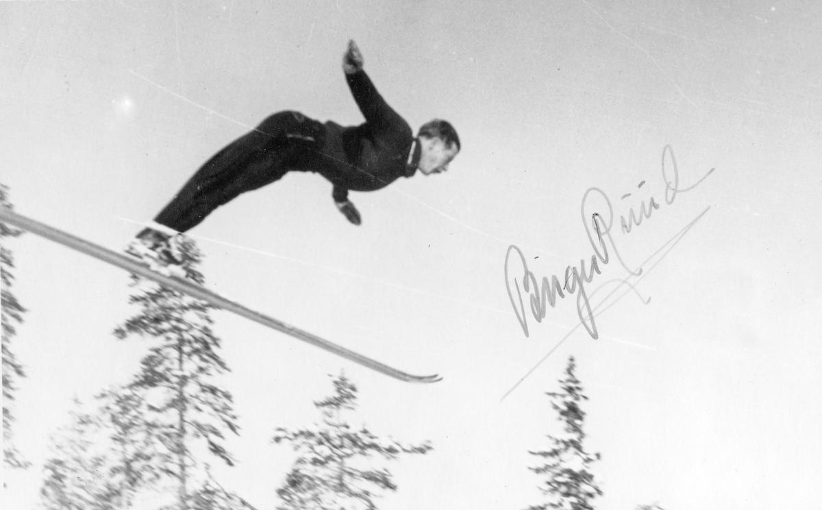 Kongsberg skier Birger Ruud in action.