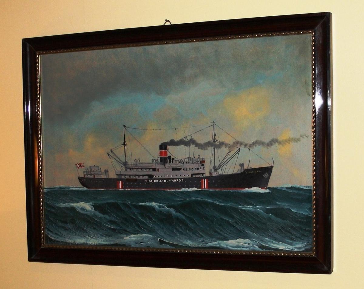 Skip, sjø, hurtigrute, Sigurd Jarl