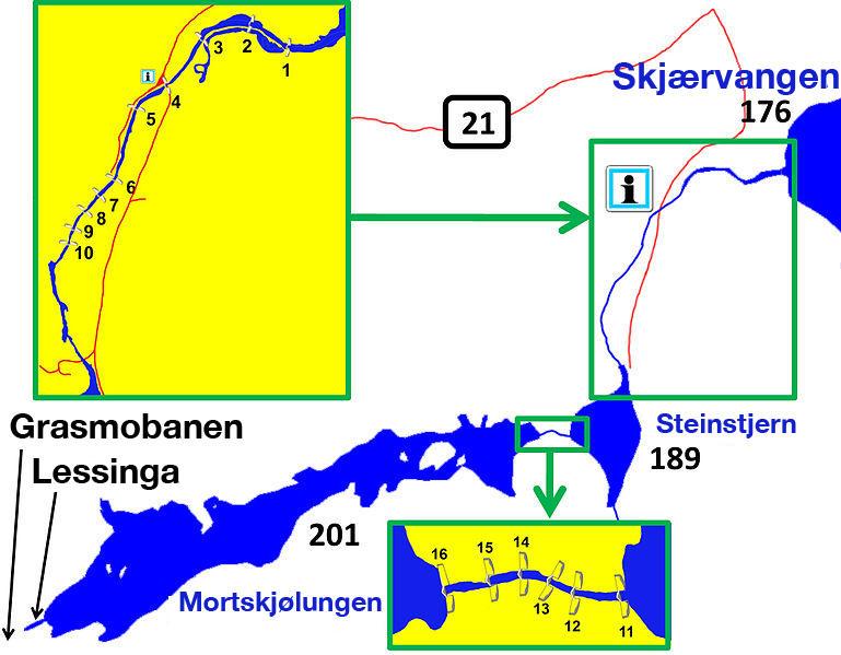 Kart over Sootkanalen