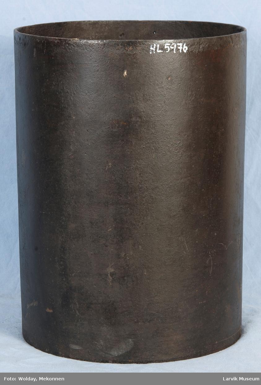 Rør til sylinderovn