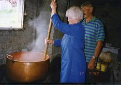 Maria Dalene, fødd Venås 1920, og Anfinn Dalene, fødd 1916,