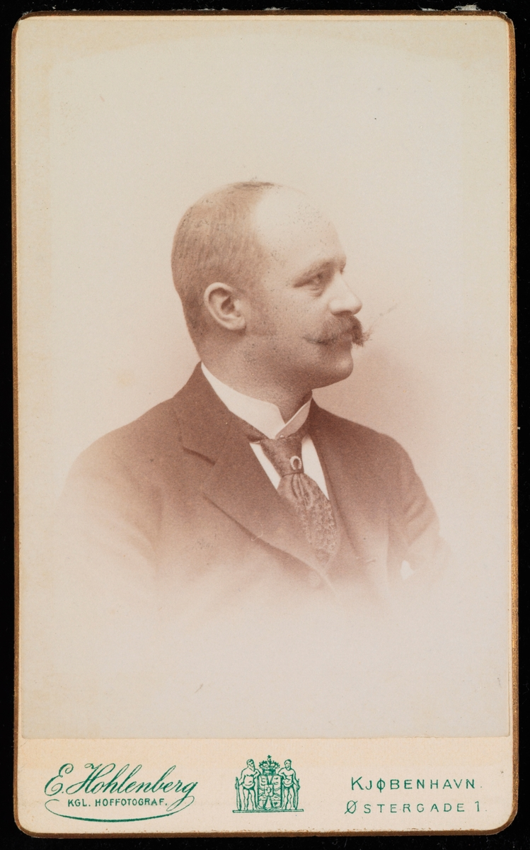 Portrett av Peter Martin Anker.