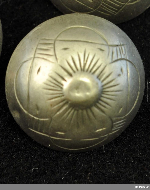 Firblad-blomst , delvis innramma av kvadrat