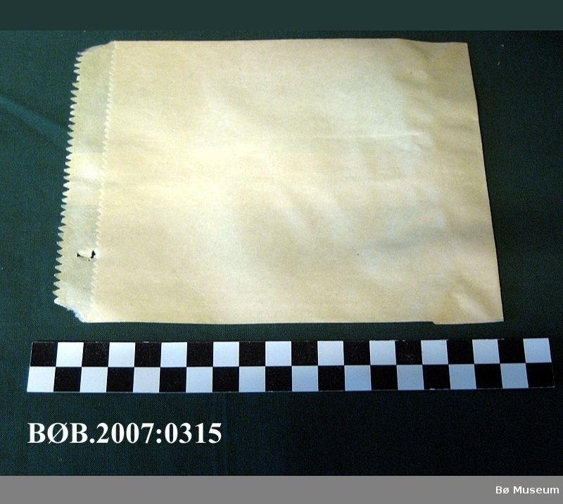 Papirposer Form: Rektangel