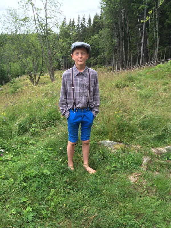 Ung sveiser i setra (Foto/Photo)