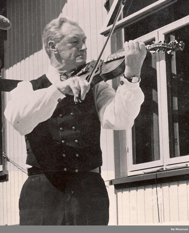 Spelemannen Sveinung H. Dahlen
