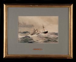 Passagerarhjulångfartyg, skonertriggat