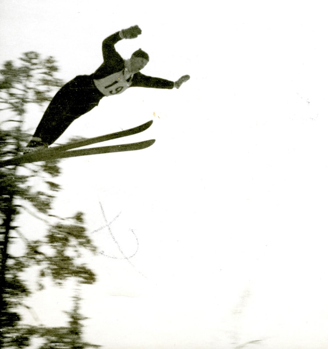 Kongsberg skier Birger Ruud in action