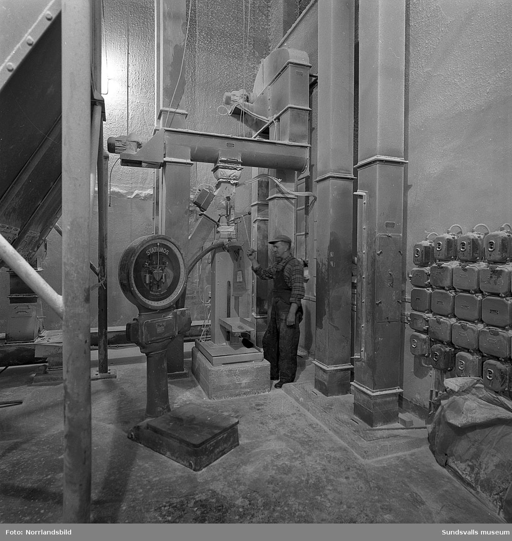 Nyhamns kemiska fabrik, interiörbilder.