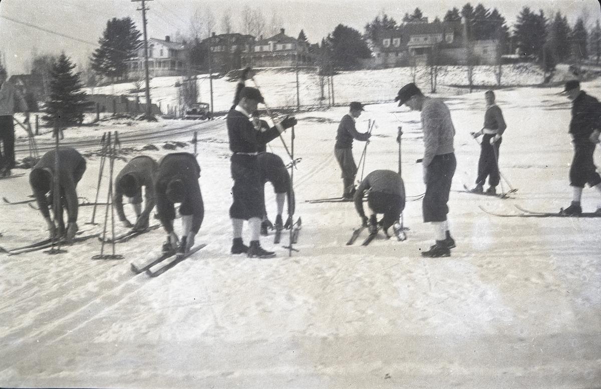 Norwegian skiers in Lake Placid?