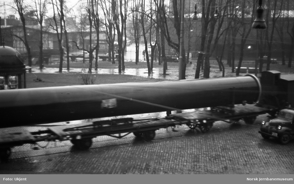 Spesialtransport på Havnebanen
