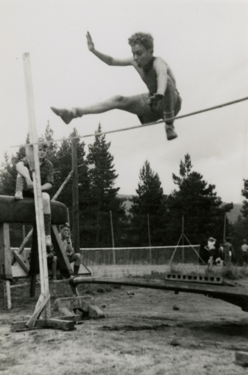Young athletes in action during summer camp at Kongsberg
