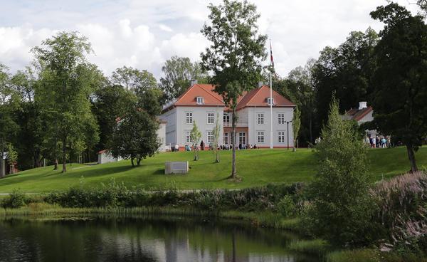 Eidsvoll 1814 Eidsvollsbygningen. Foto/Photo