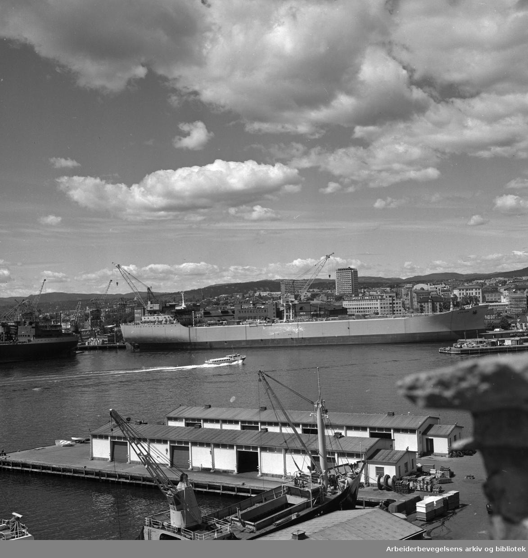 Oslo havn. Nyland Vest..1960 - 1965