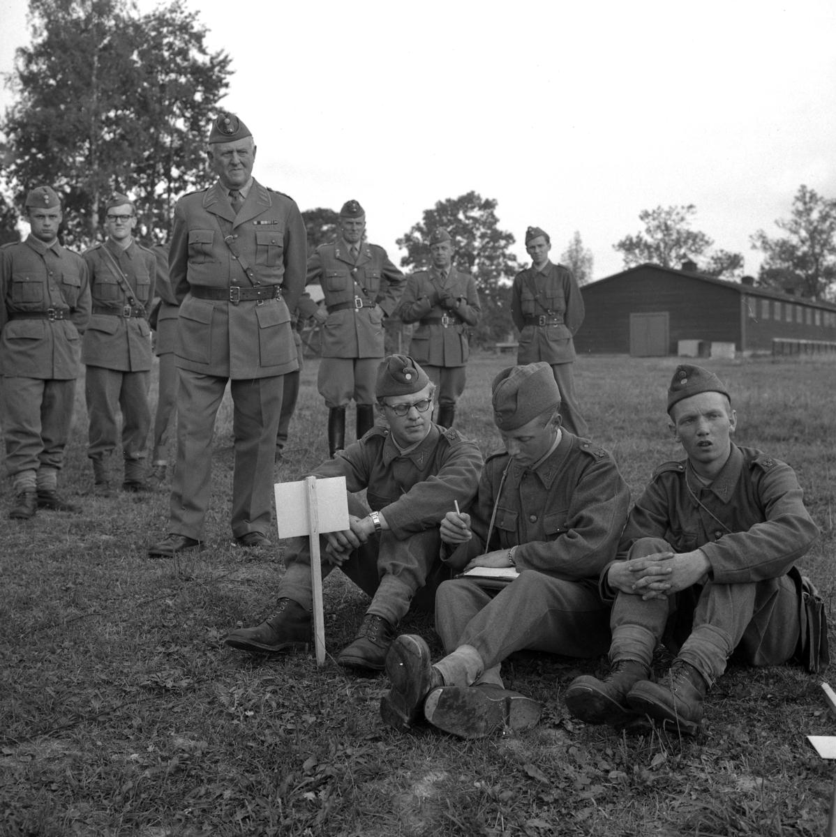 General på I3. 12 september 1955.