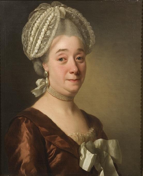 Maria Ravens (1720-1786), g.m. livmedikus Johan Ulrik Wertmüller