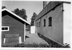 Fasad mot söder, Varmbadhus.