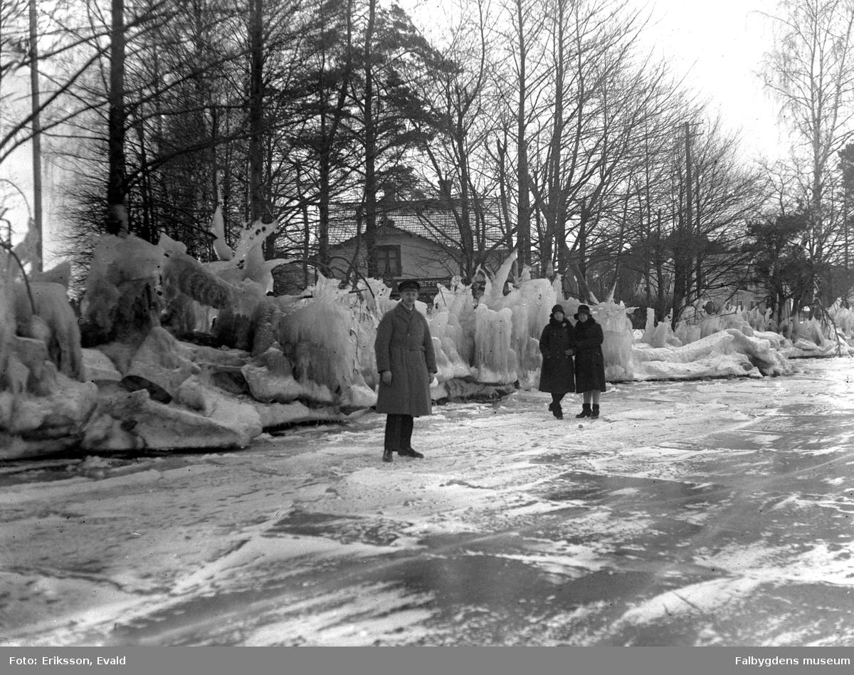 Vinter i Karlsborg.